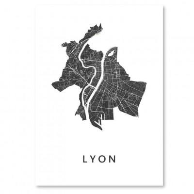City Map Lyon