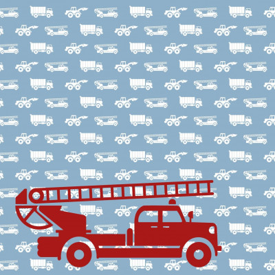 Wallpaper Cars with Fire Truck | Blue