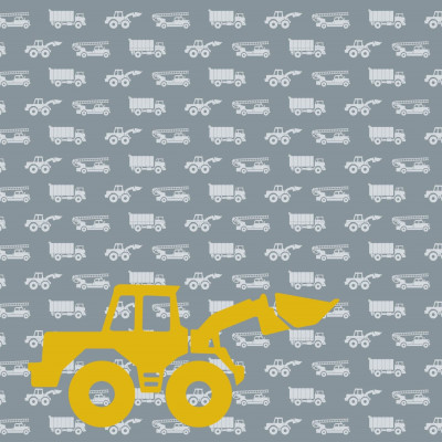 Wallpaper Cars with Excavator  | Grey
