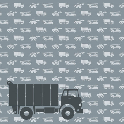 Wallpaper Cars with Truck | Grey