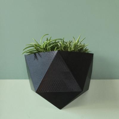 Magnetisches Pflanzgefäß | Schwarz