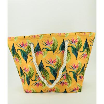 Lemon Beach Bag