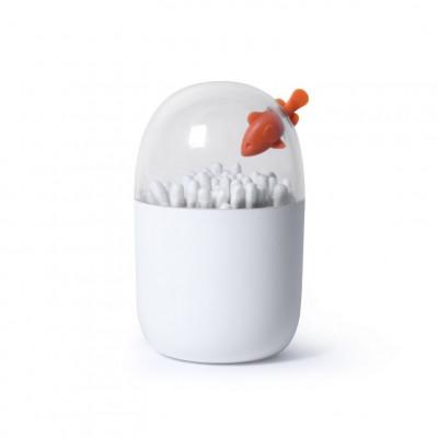 Wattestäbchenhalter Clownfisch | Weiß