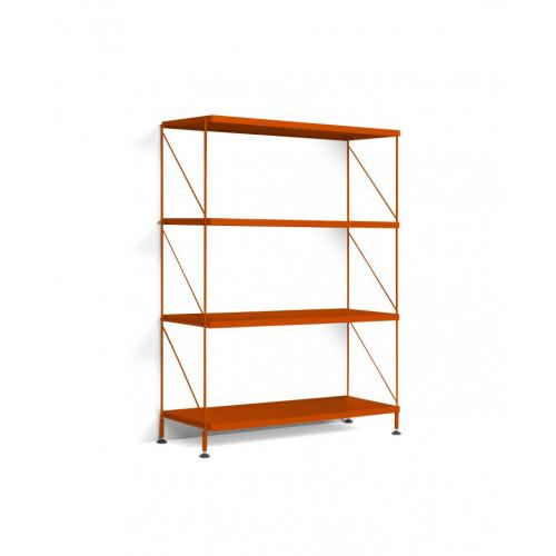 Floor Shelf Tria Pack   Orange