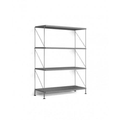 Floor Shelf Tria Pack   Grey