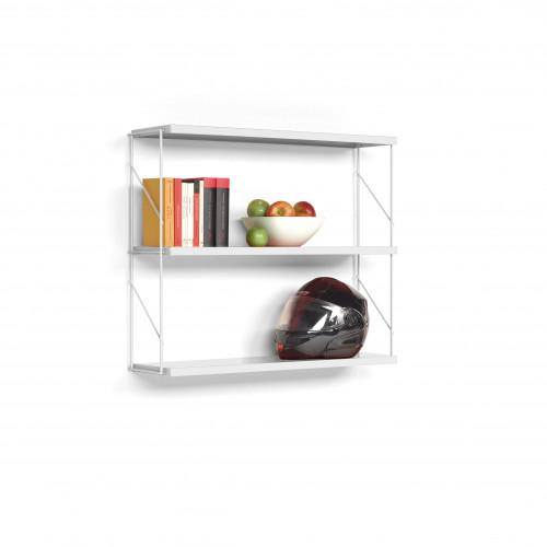 Wall Shelf Tria Pack | White