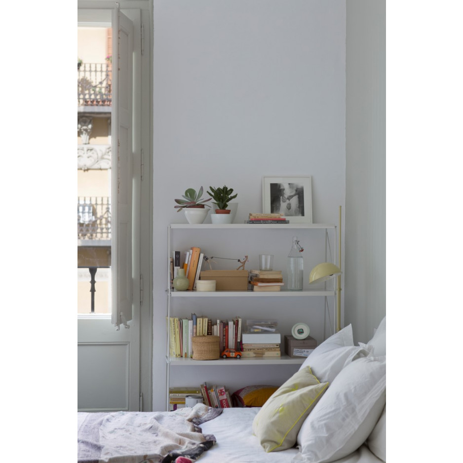 Floor Shelf Tria Pack   White