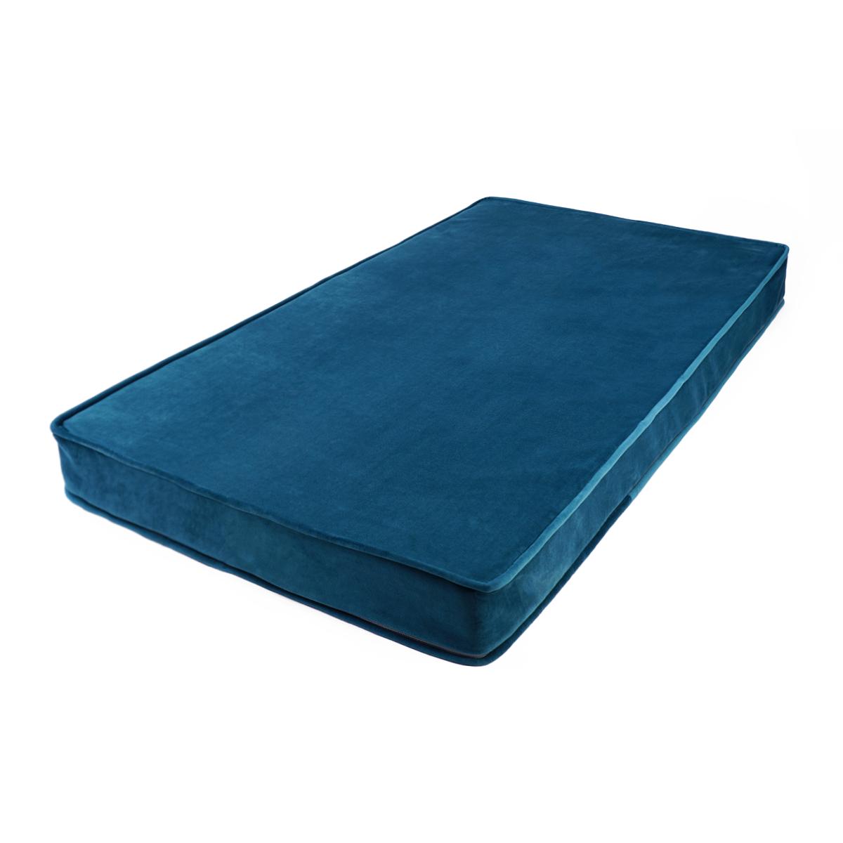 Mattress/Play Matt for Children Velvet | Turquoise