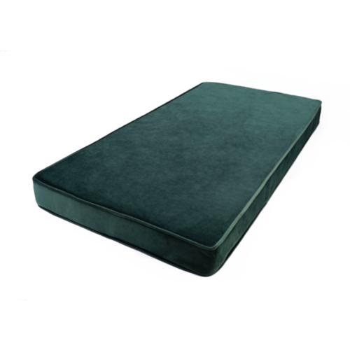 Matratze / Spielmatte für Kinder Velour | Grün