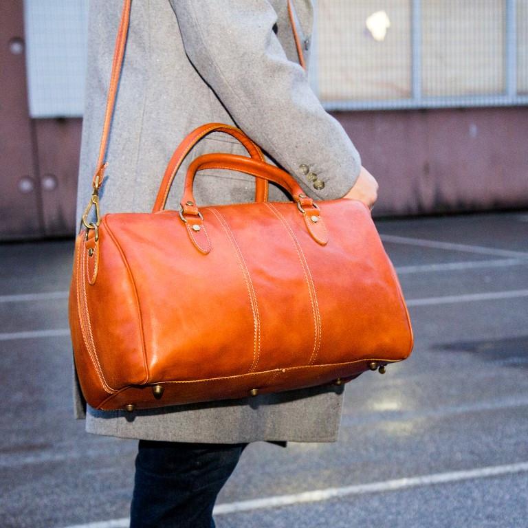 Reisetasche Amerigo | Cognac