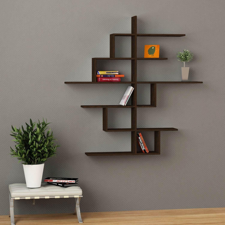 Shelf Cizgi N.4 | Wengé