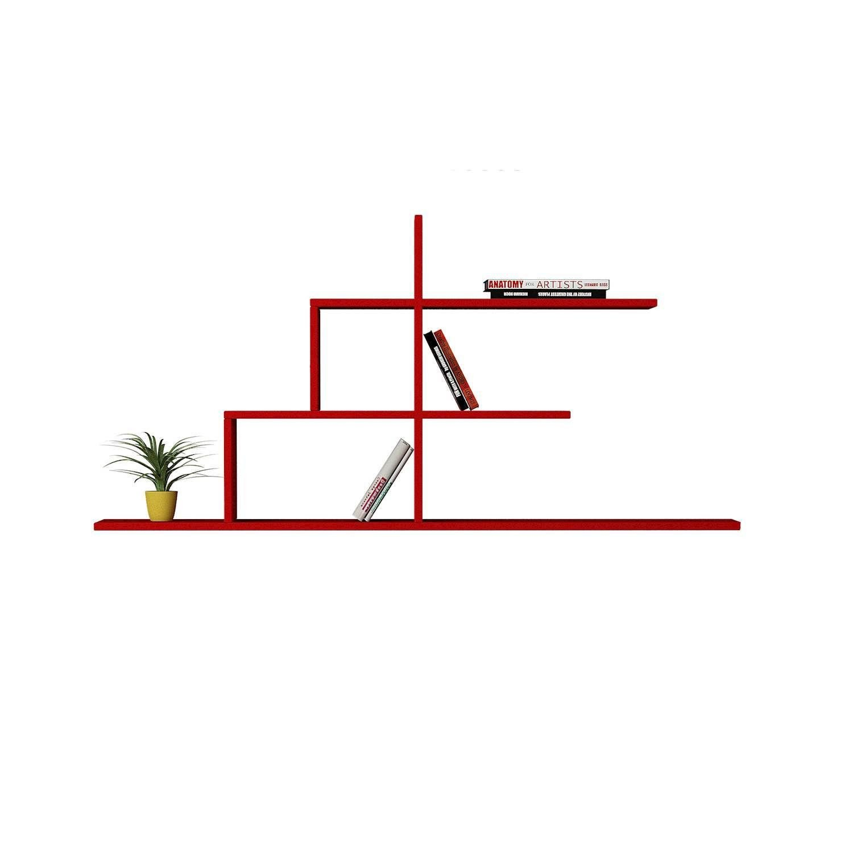 Shelf Cizgi N.2 | Red