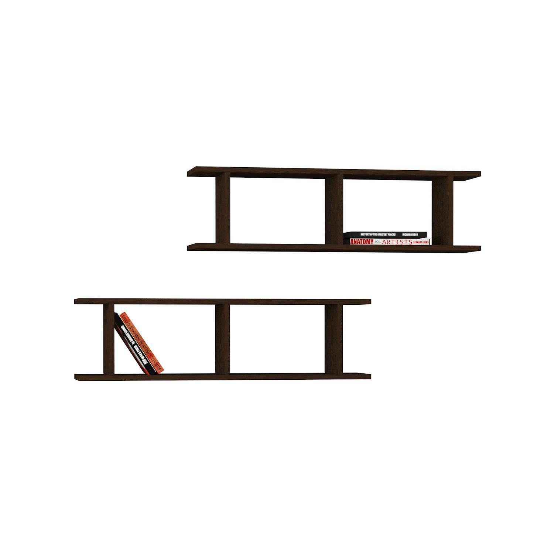 Shelf Ray Set of 2 | Wengé