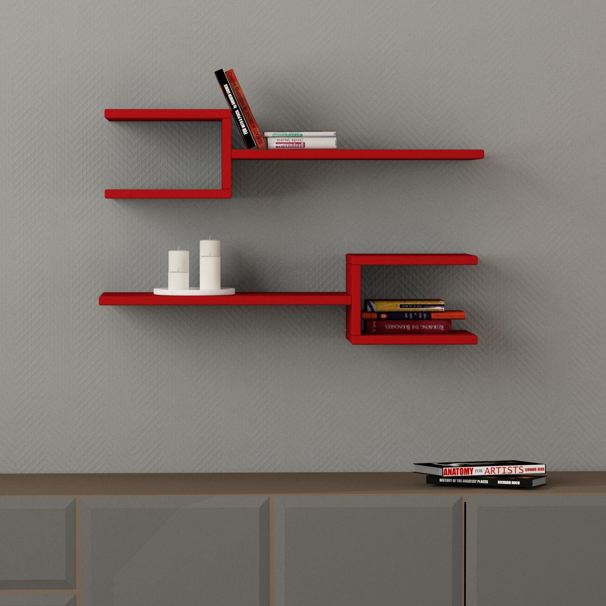 Fork Shelf | Red