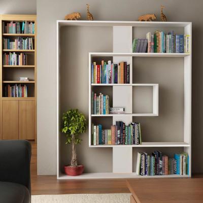 Bücherregal Tesa   Hochglanzweiß