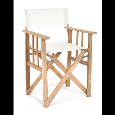 Director Chair | White