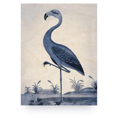 Royal Blue Flamingo