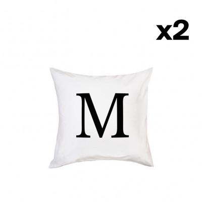 2er-Set Kissenbezügen | M