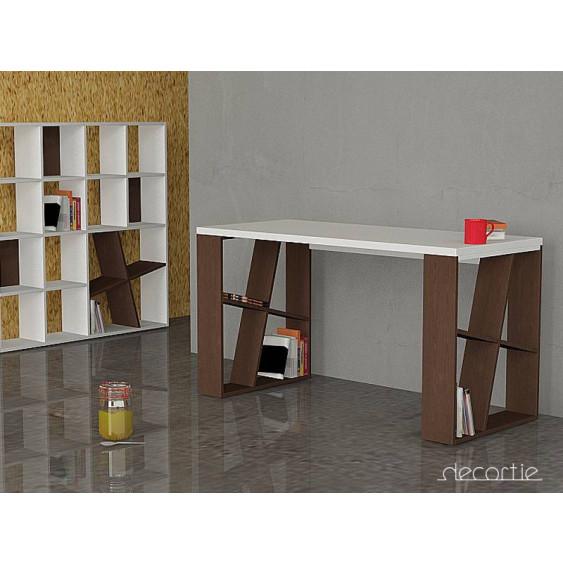 Honey Desk | Weiß & Eiche