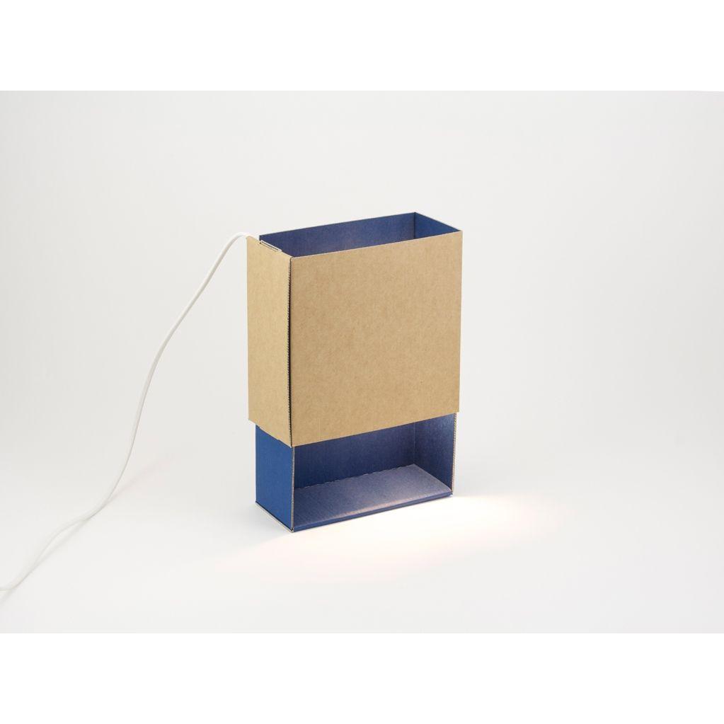 Luciferdoosje-Licht in Blauw