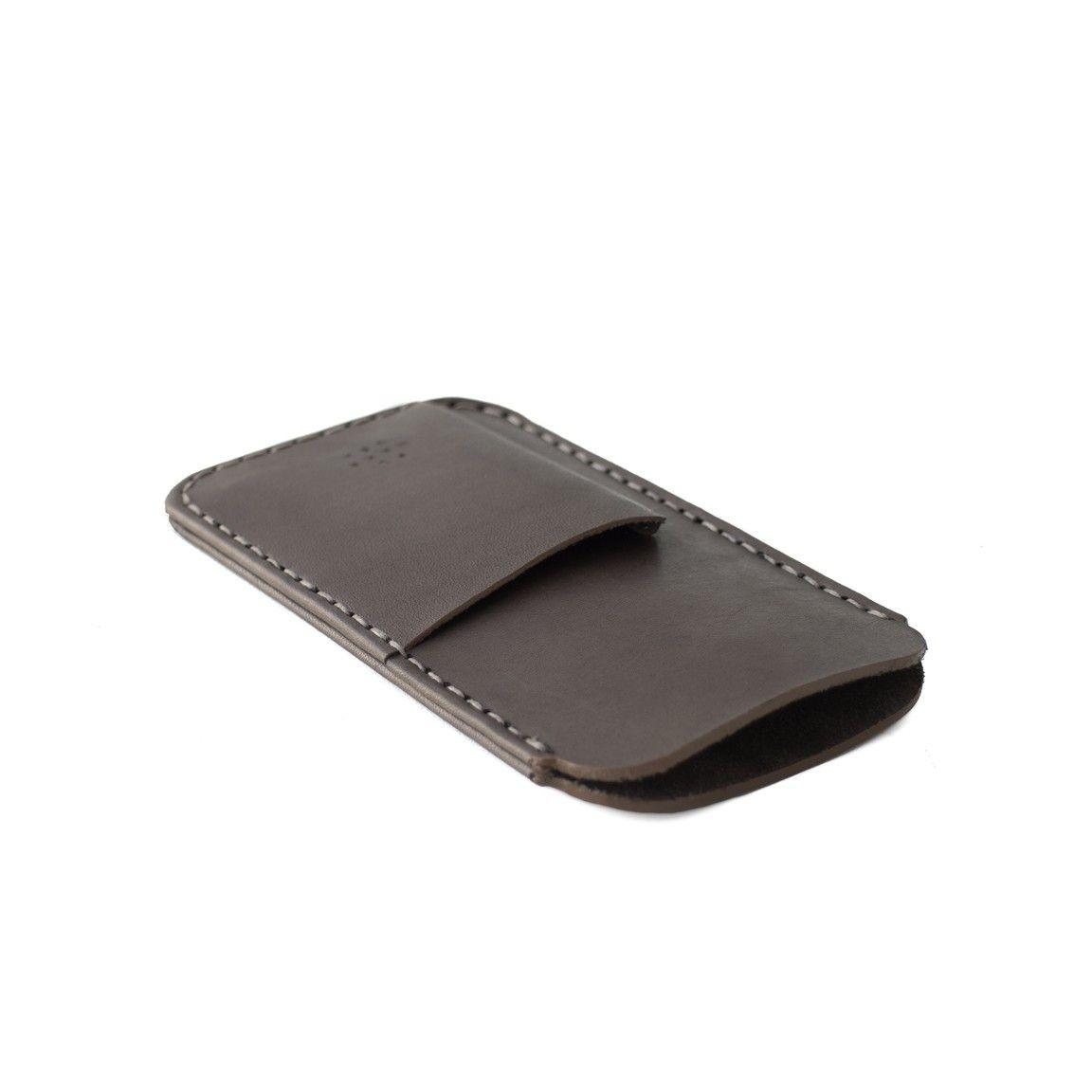 Phone/Card Sleeve   Charcoal