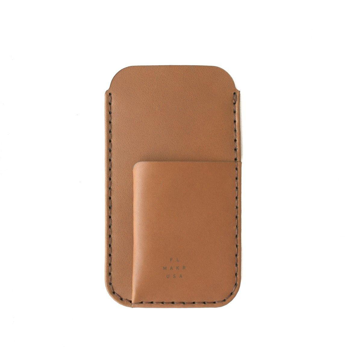 Phone/Card Sleeve   Tobacco