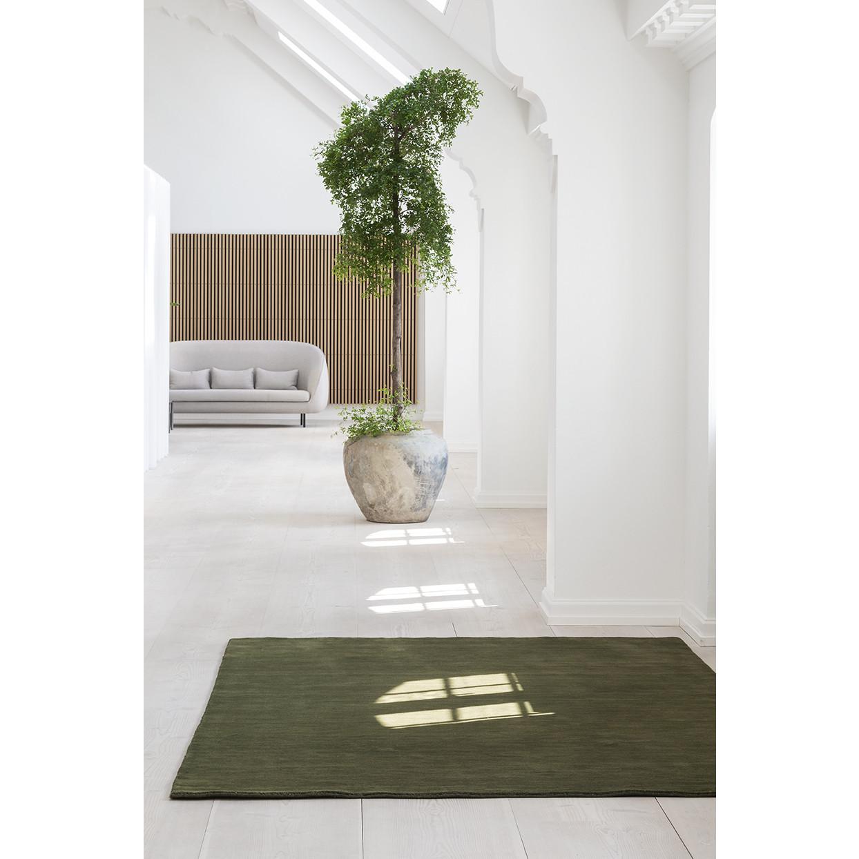 Teppich Earth | Moosgrün