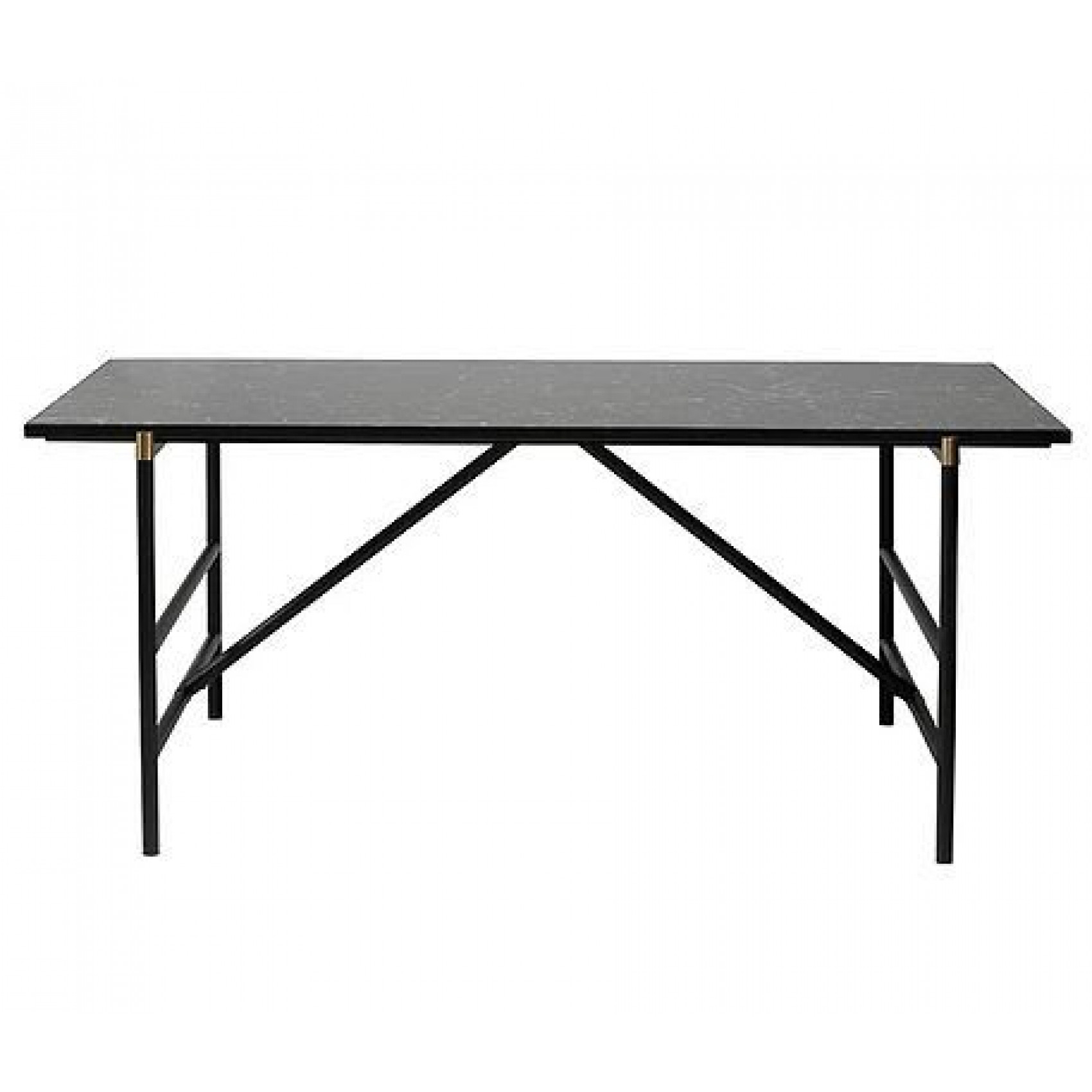 Dining Table Top Mood  | Black Marble