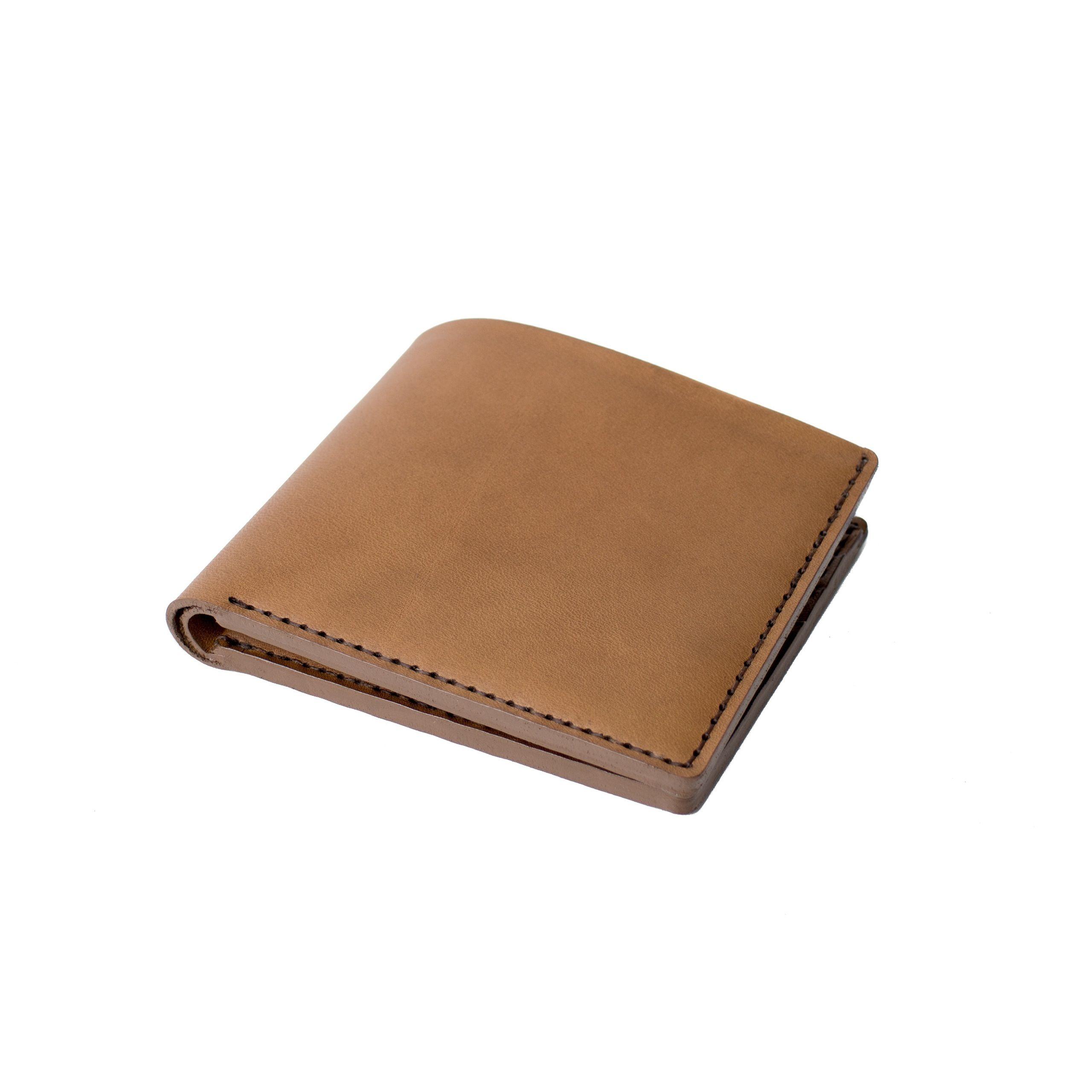 Open Billfold Wallet | Tobacco Horween Latigo Leather