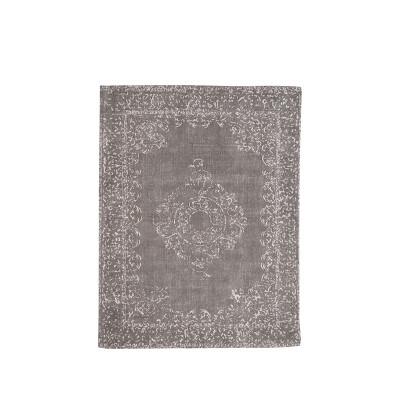 Teppich Vintage 140 x 160 cm   Anthrazit