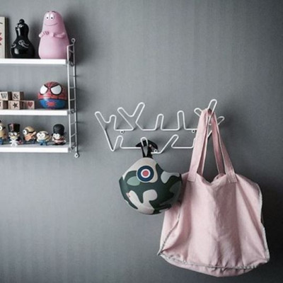 Garderobe Crown | Weiß