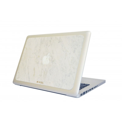 Marble MacBook Cover | Carrara White