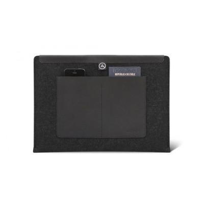 Flow Pockets MacBook-Hülle   Schwarz