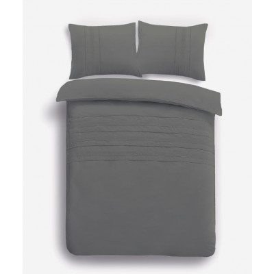 Bettbezug Madrid   Grau