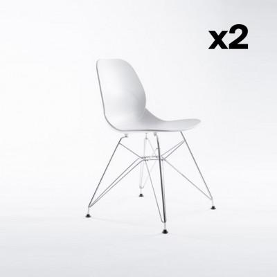 2er-Set Stühle Madrid | Schwarz