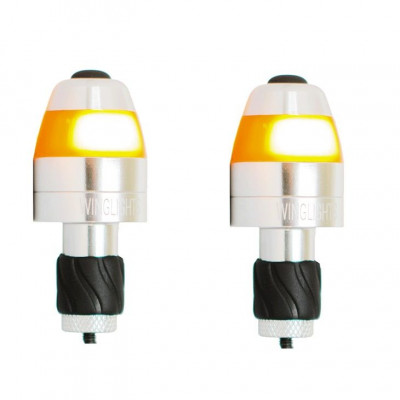 WingLights LED Lights Magnetic | Silver