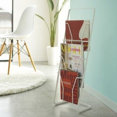 Etagère à Magazines 4 Folders Tower | Blanc