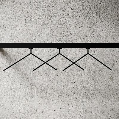 3-er Set Aufhänger MagHang | Schwarz