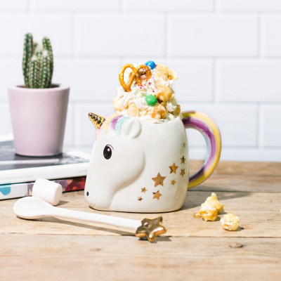 Magical Unicorn Mug and Wand