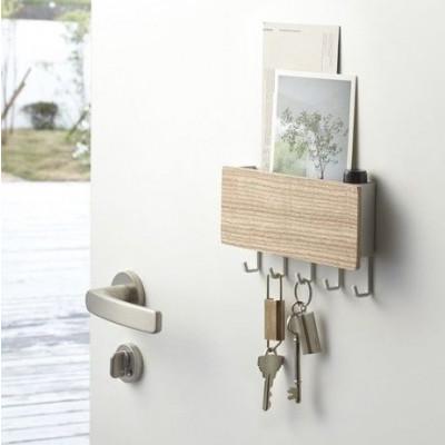 Magnetic Keyhook & Holder Rin | Natural