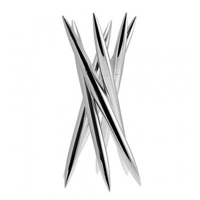 Magnum Knife Block Chrome