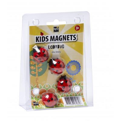 Magnete Marienkäfer 4er-Set