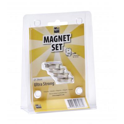 Magnete Ø 29 mm 4er-Set