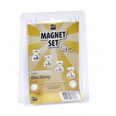 Magnete Pushpins 4er-Set
