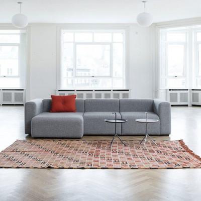 Mags Sofa 3-seater Corner Double Chaiselongue Light Grey