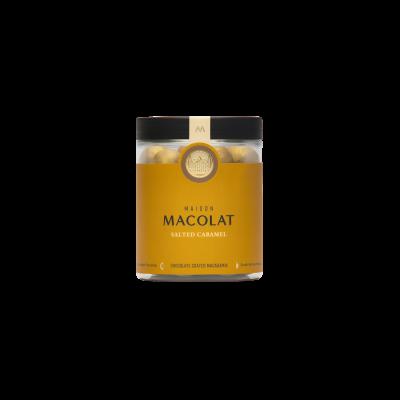 Schokoladenüberzogene Macadamia 160 g | Gesalzenes Karamell