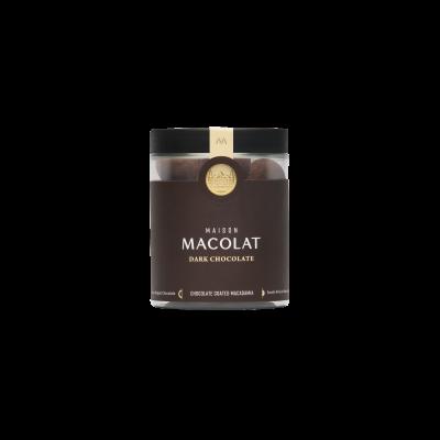 Schokoladenüberzogene Macadamia 160 g | Dunkle Schokolade