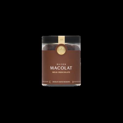 Schokoladenüberzogene Macadamia 160 g | Milchschokolade