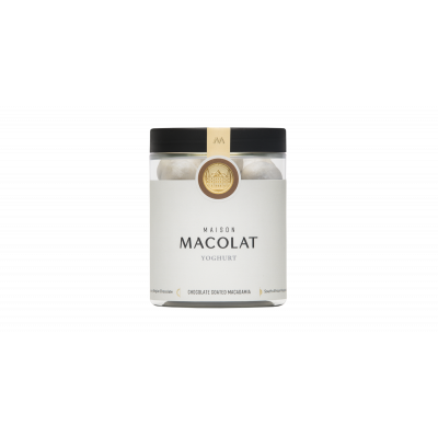 Schokoladenüberzogene Macadamia 160 g | Joghurt