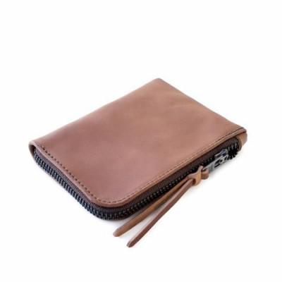 Cordovan Zip Slim Wallet | Natural Horween Shell Cordovan Leather